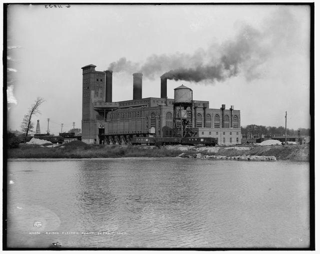 Edison Electric plant [Detroit Edison Company], Detroit, Mich.