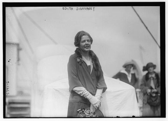 Edith Sigourney