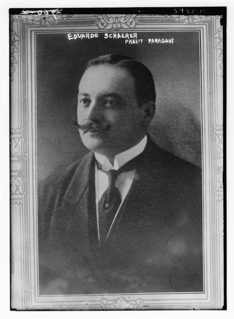 Eduardo Schaerer, Pres. Paraguay