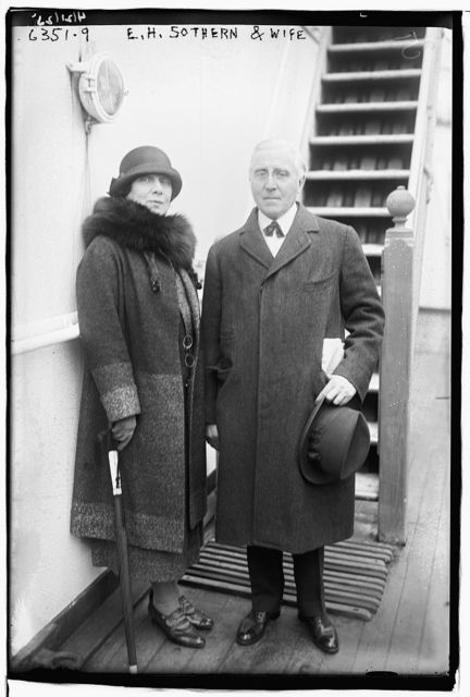 E.H. Sothern and wife