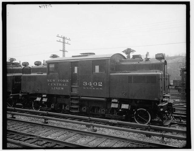 Electric locomotive, N.Y.C. R.R. [New York Central Railroad]