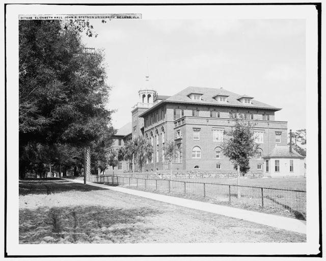 Elizabeth Hall, John B. Stetson University, De Land, Fla.