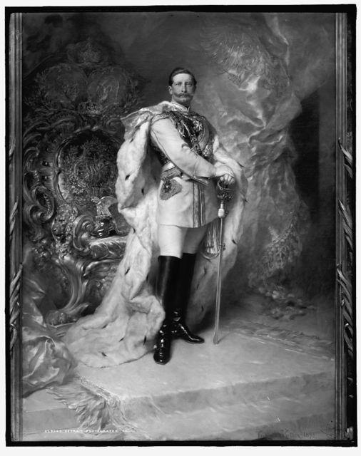 [Emperor Wilhelm II, full-length portrait]