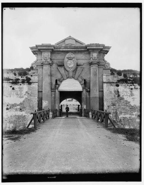 Entrance to Cabanas Castle, Havana