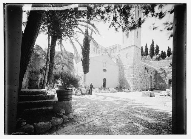 Environs of Jerusalem. Church of Elizabeth's Visitation [Ain Karim]