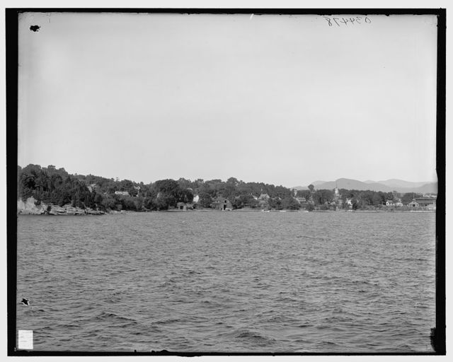 [Essex from the lake, Lake Champlain, N.Y.]