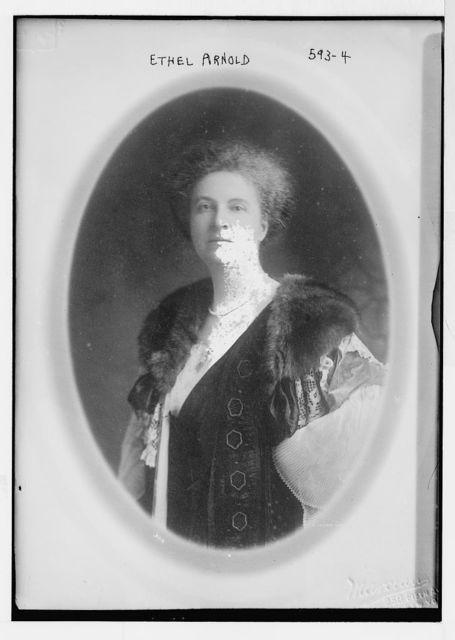 Ethel Arnold, cameo portrait, Marceau, N.Y. / Marceau