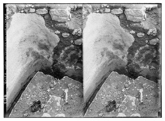 Excavations on Ophel [Jerusalem]. Rock-cut foundations