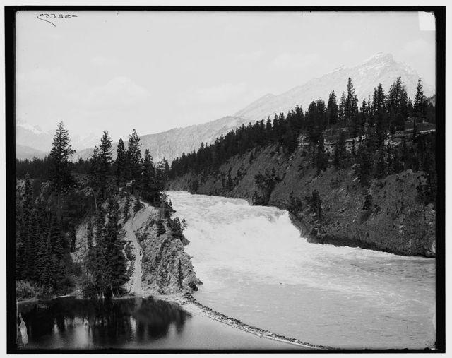 [Falls of Bow River, Canadian North [i.e. National] Park, Alberta, Canada]