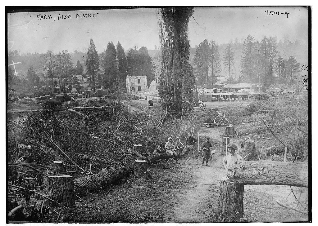 Farm, Aisne District