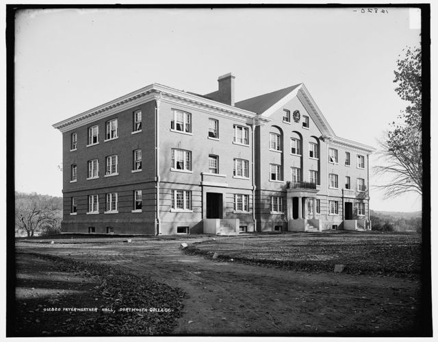 Fayerweather Hall, Dartmouth College