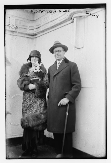 F.B. Patterson and wife
