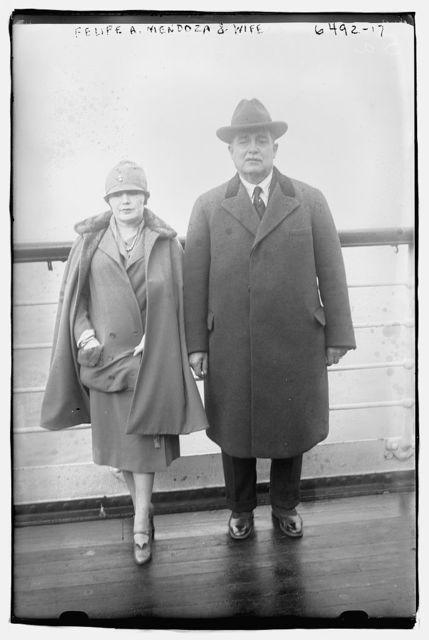 Felipe A. Mandoza & wife