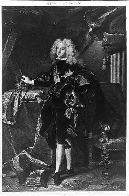 Felipe V, King of Spain, 1683-1746