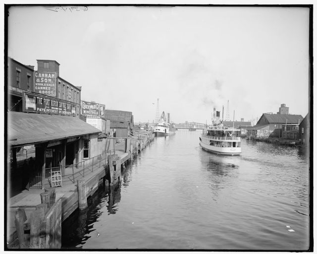 [Ferry landing, Port Huron, Mich.]
