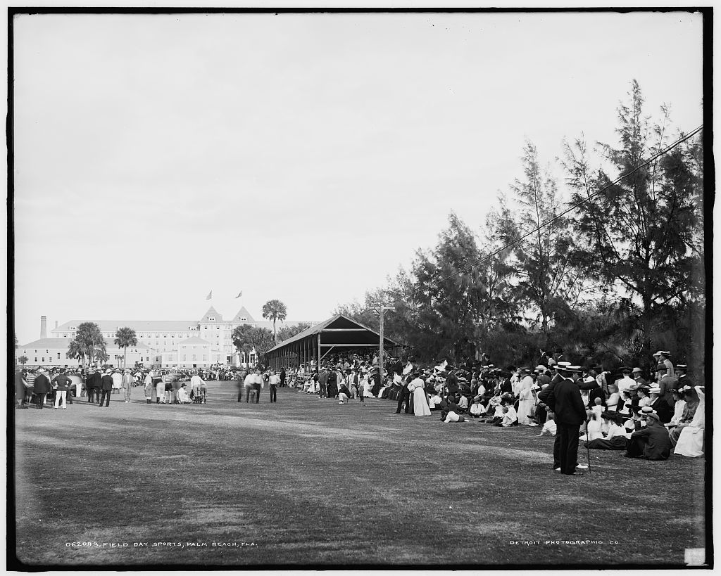 Field day sports, Palm Beach, Fla.