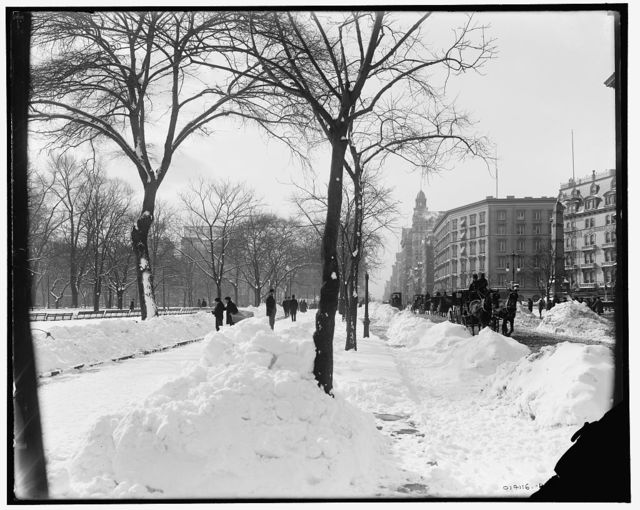 [Fifth Ave. on a winter morning, New York, N.Y.]