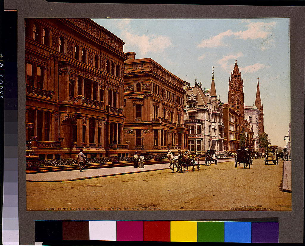 Fifth Avenue at Fifty-first Street, New York City