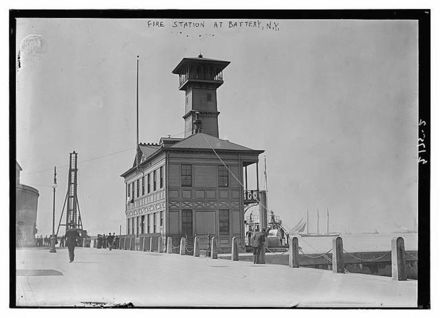 Fire station in Battery, N.Y.