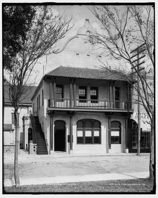 First National Bank, St. Augustine, Fla.