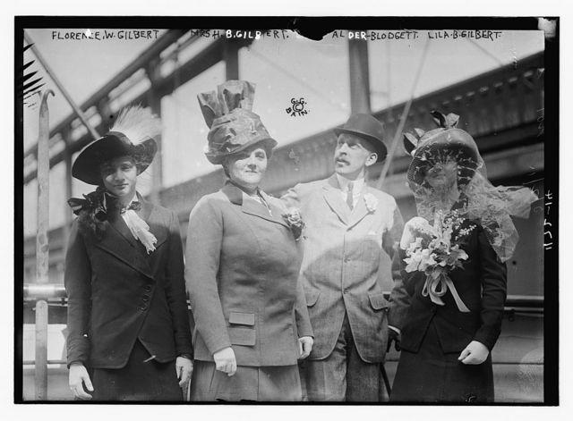 Florence W. Gilbert, Mrs. B. Gilbert, Alder Blodgett, Lila B. Gilbert