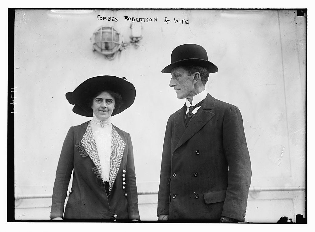 Forbes Robertson and wife