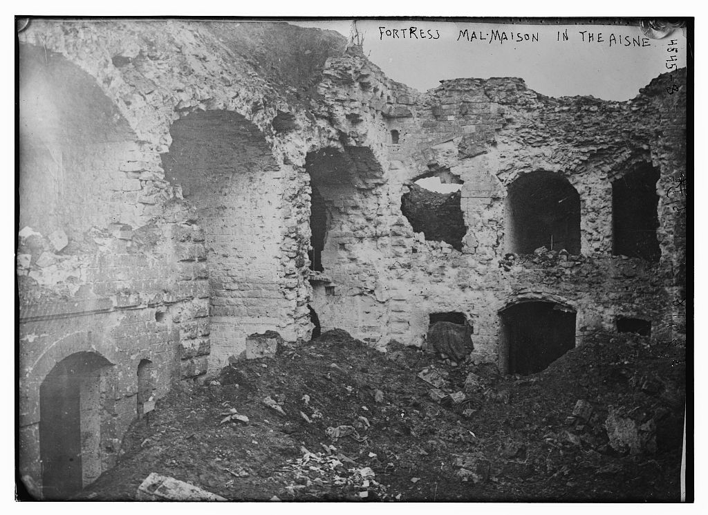 Fortress Mal-Maison in the Aisne