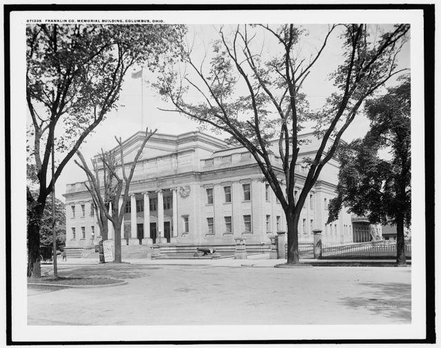 Franklin Co. Memorial building, Columbus, Ohio