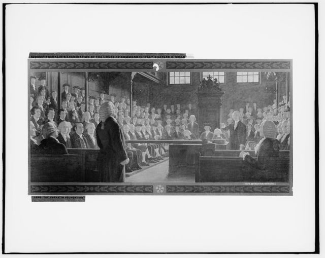 Franklin's examination by the House of Commons in 1766