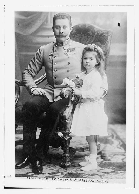 Franz Ferd. of Austria and Princess Sophie