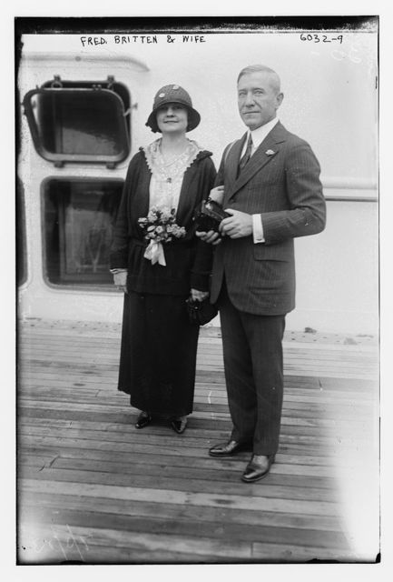 Fred.Britten and wife