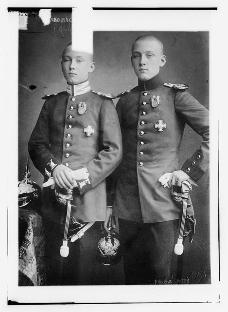 Frederich and Franz Jos. of Hohenzollern