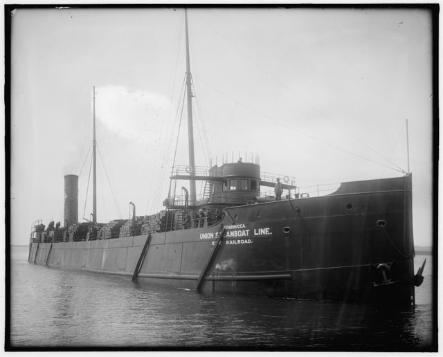 [Freighter Starrucca, Union Steamboat Line]