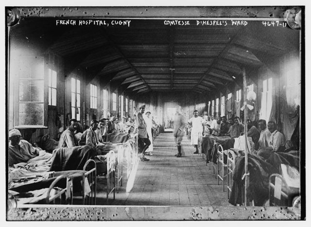 French Hospital, Cugny -- Comtesse d'Hespel's Ward