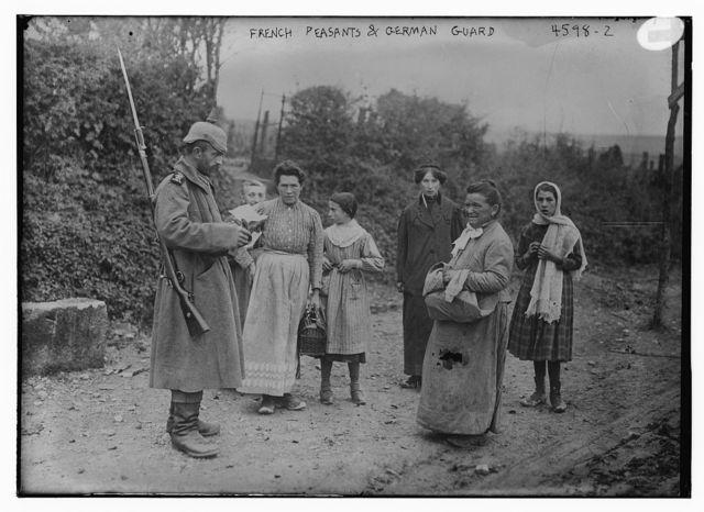 French Peasants & German Guard