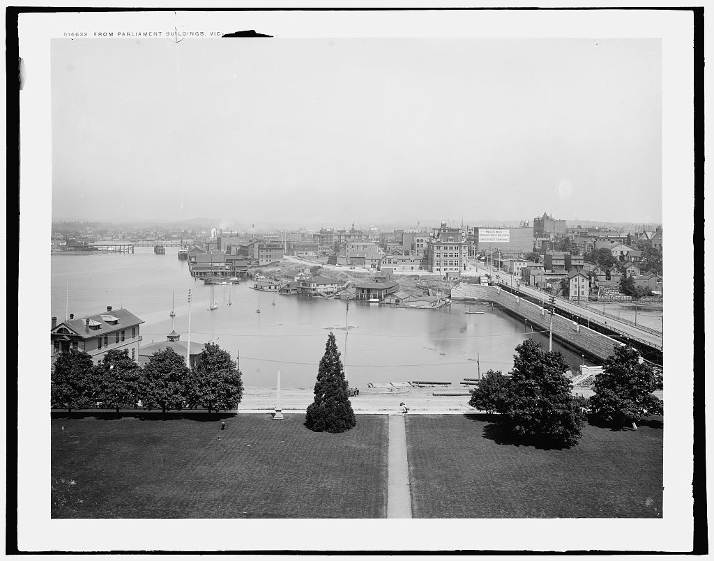 From parliament buildings, Victoria