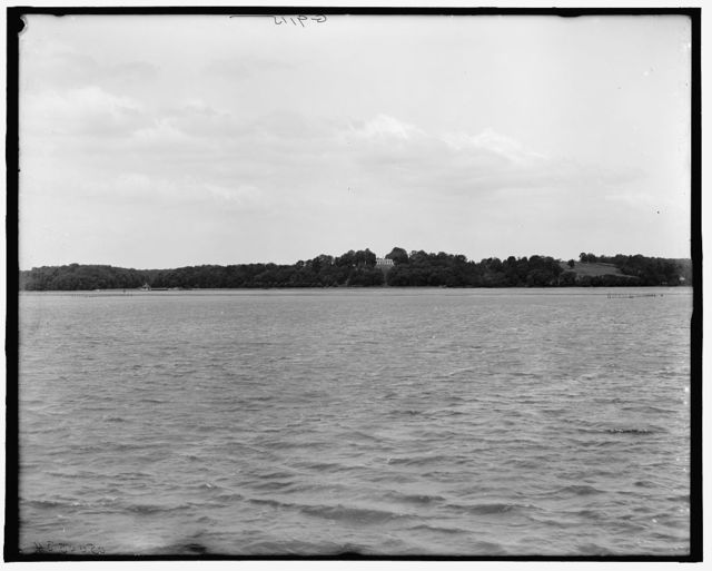 [From the Potomac, Mt. Vernon, Va.]
