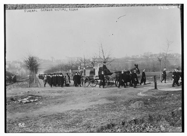 Funeral of German victims, Essen