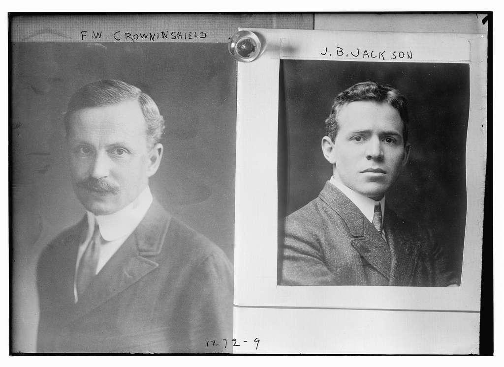 F.W. Crowninshield and J.B. Jackson; separate frames