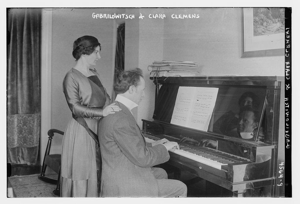 Gabrilowitsch & Clara Clemens