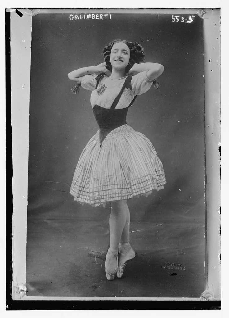 Galimberti toe dancing Mishkin