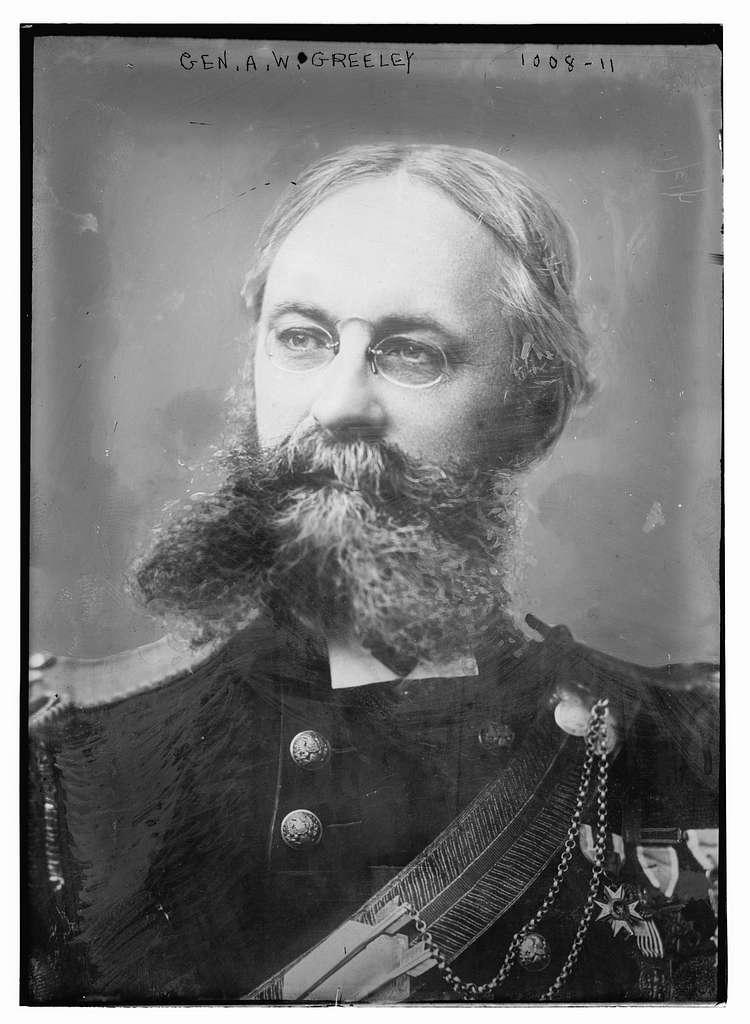 Gen. A.W. Greeley in uniform