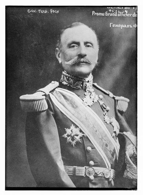 Gen. Ferd. Foch.