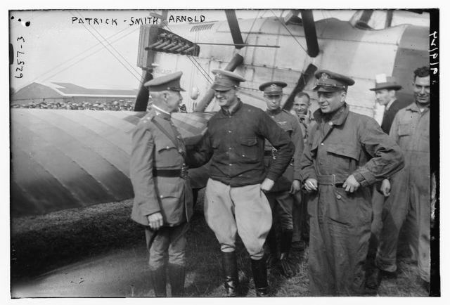 Gen. Patrick, Lt. Smith, Lt. Arnold