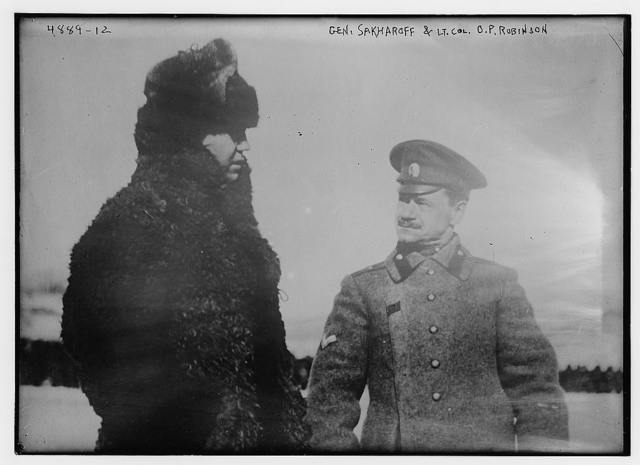 Gen. Sakharoff & Lt. Col. O.P. Robinson