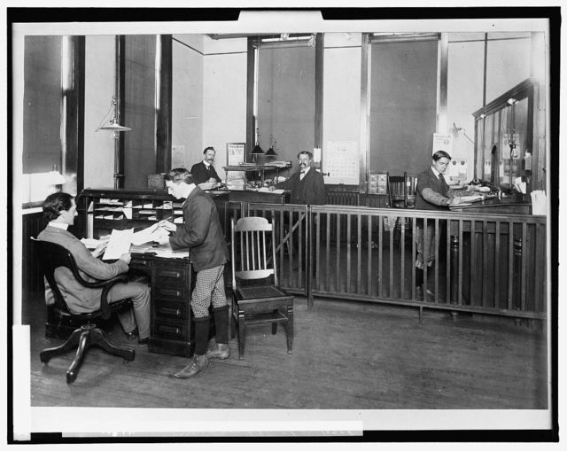 [General office, Leland & Faulconer Manufacturing Co., Detroit, Mich.]