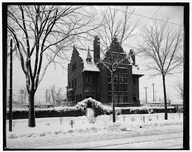 [George Gough Booth residence, Detroit, Mich.]