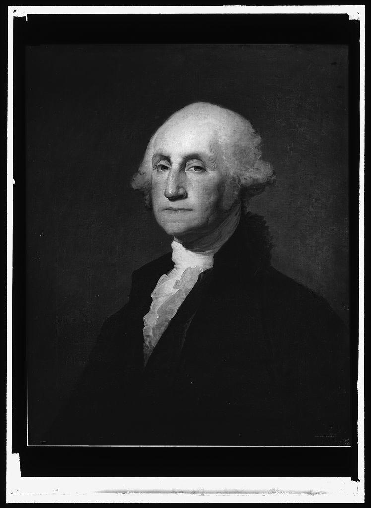 [George Washington, head-and-shoulders portrait]