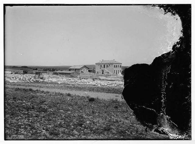 German Baghdad Railway, 190_. Construction camp