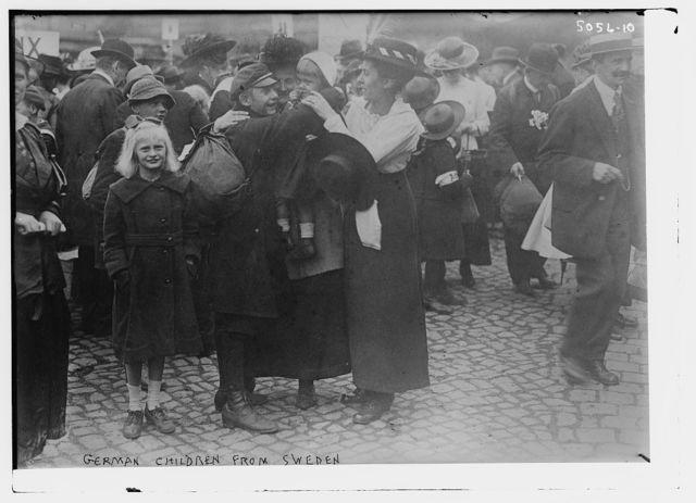 German children from Sweden